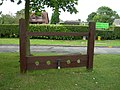 Village Stocks, Middle Rasen - geograph.org.uk - 1411186.jpg