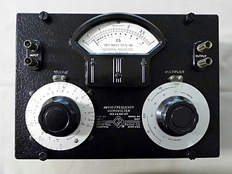 General Radio - Type 546-0, Audio-Frequency Microvolter
