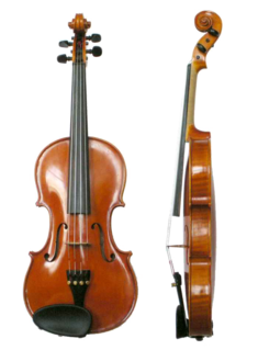 Violin bowed string instrument, usually with four strings tuned in perfect fifths