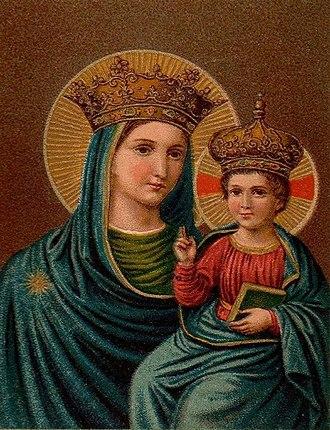 Madonna Della Strada - Image: Virgen del Buen Camino S.J