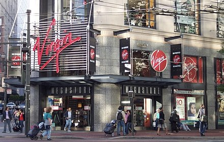 Virgin Megastore in San Francisco (2004)