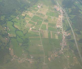Asón-Agüera - Image: Vista aerea de Rasines