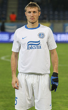 Mandzjoek in 2011 bij Dnipro Dnipropetrovsk