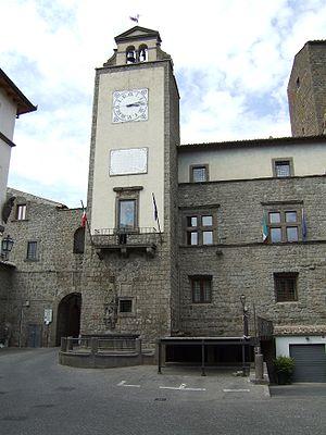Vitorchiano - Town Hall of Vitorchiano