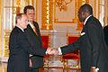 Vladimir Putin with Vissinto Ayi d'Almeida.jpg
