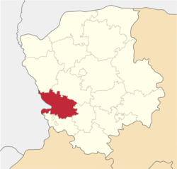 Location of Volodimiras-Volinskas rajons