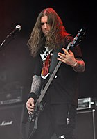 Vomitory, Erik Rundqvist at Party.San Metal Open Air 2013 02.jpg