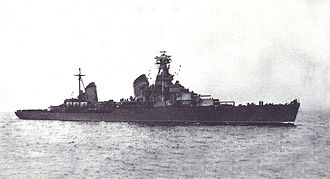 Soviet Navy surface raids on Western Black Sea - Soviet cruiser Voroshilov