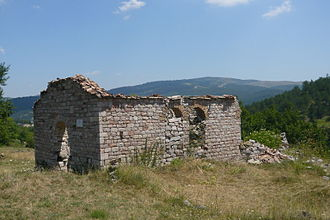 Moscopole - Ruined St. Charalampus' Church