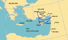 Viajes misioneros de Pablo - Wikipedia, la enciclopedia libre