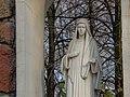 Włocławek-figure of Mother of God, Queen of Peace.jpg