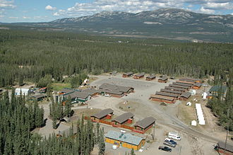Whitehorse, Yukon - Whitehorse Cadet Summer Training Centre opened in July, 1984 at Boyle Barracks, a compound previously occupied by the Wolf Creek Juvenile Corrections Centre, located between the subdivisions of Wolf Creek and Mary Lake.