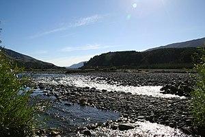 Wairau River - Kowhai Point in the Wairau Valley