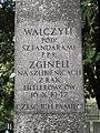 Walczyli pod sztandarami PPR zginęli na szubienicach z rąk Hitlerowców 16 X 1942 - Cmentarz Wojskowy na Powązkach (170).JPG