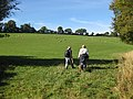 Walkers below Linton Ridge - geograph.org.uk - 1543163.jpg