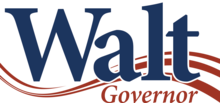 Walt Maddox For Governor Logo