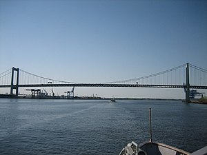 Walt Whitman Bridge - Image: Walt Whitman Bridge 2