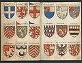 Wapenboek Beyeren (armorial) - KB79K21 - folios 017v (left) and 058r (right).jpg