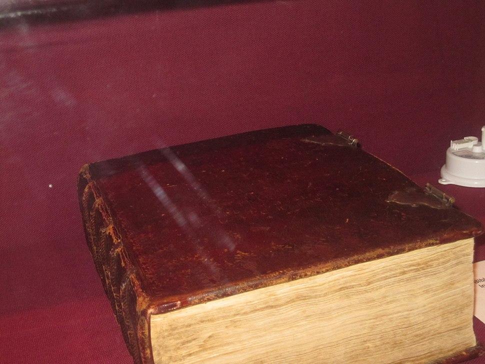 Washington's inaugural Bible, 1789 IMG 1702