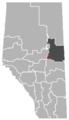 Waskatenau, Alberta Location.png