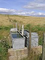 Water troughs on Swinnie Moor - geograph.org.uk - 536264.jpg