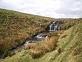 Waterfall on the Afon Gam - geograph.org.uk - 1774433.jpg
