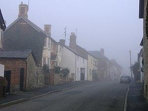 Leintwardine - Image: Watling Street, Leintwardine geograph.org.uk 383567