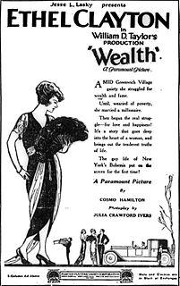 <i>Wealth</i> (film) 1921 film