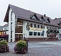 Weilheim an der Teck. Hotel Gaststätte zur Post, Marktpl. 12, 73235 (Nationales Denkmal) 01.jpg
