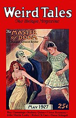 Weird Tales cover image for May 1927