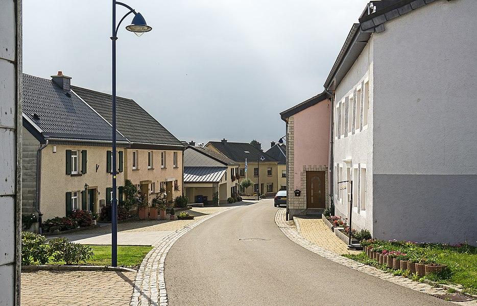 """""""Kiricheneck"""", a street in Weiswampach"""