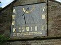 Weobley Church Sundial - geograph.org.uk - 1514640.jpg