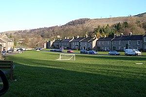 West Burton, North Yorkshire - Image: West Burton village green