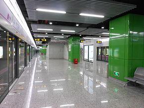West Jinshajiang Road Station.JPG