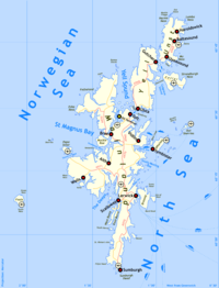 map of bressay shetland Information about and images of the bressay heritage centre in shetland on undiscovered scotland.