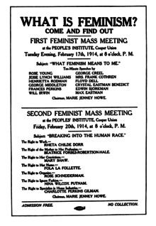 Femminista datazione repubblicana