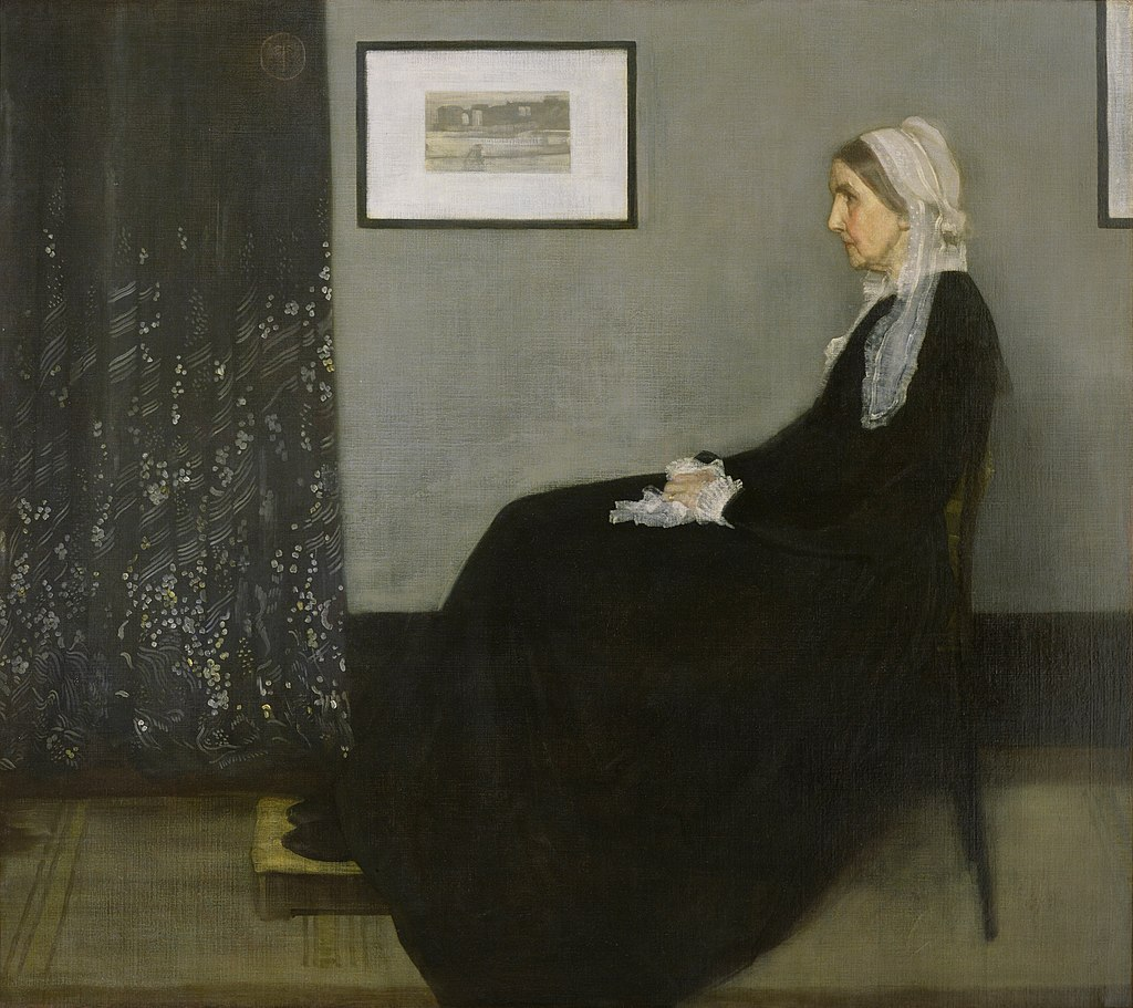 """Whistler's Mother"" by James McNeill Whistler"