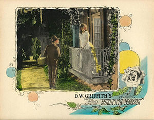 The White Rose (1923 film) - Lobby card