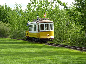 English: Trolley in Whitehorse, Yukon, Canada