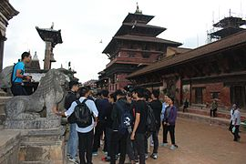 Wiki Loves Monuments in Nepal - 2016 Outreach 05.jpg
