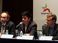 Wikimanía 2015 - Day 2 - Press Conference - LMM - México D.F. (5).jpg