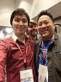 Wikimania 2017 by Deryck day 0 - 13 Fuzheado.jpg