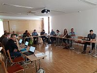 Wikimedia Hackathon 2017-05-19 Fantastic MediaWikis MG 01.jpg