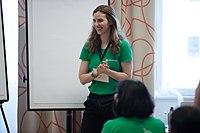 Wikimedia Hackathon Vienna 2017-05-19 Mentoring Program Introduction 023.jpg