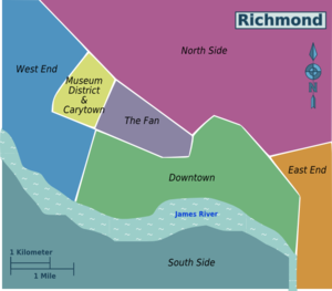 Richmond Traffic Map.Richmond Travel Guide At Wikivoyage
