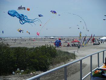 English: The Wildwoods International Kite Fest...