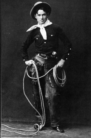 Will Rogers - Will Rogers, photograph taken before 1900