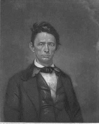 William Gannaway Brownlow - Brownlow, as he appeared on the frontispiece of his 1856 book, The Great Iron Wheel Examined