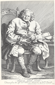 Lord Lovat by Hogarth