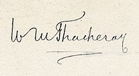 William Makepeace Thackeray's signature.jpg